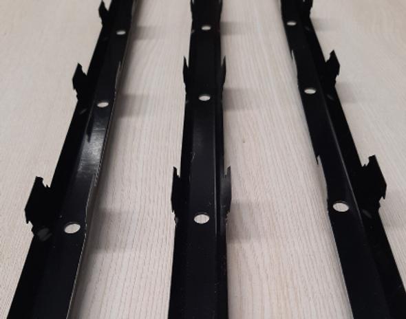 Eceil PVC Baffle Ceiling Joist Clip Black