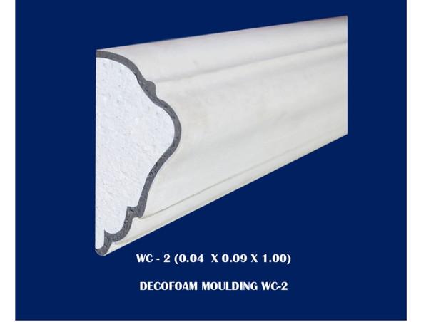 Decofoam Window Casing  0.04x0.09x1.00m