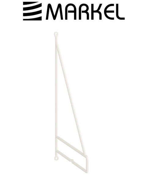 MARKEL STEEL WIRE BRACKET WHITE 200MM DEPTH