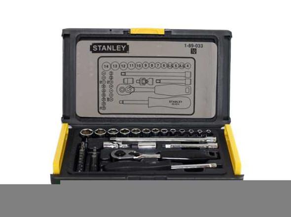 Stanley Driver Socket 1/4 35Pcs Set