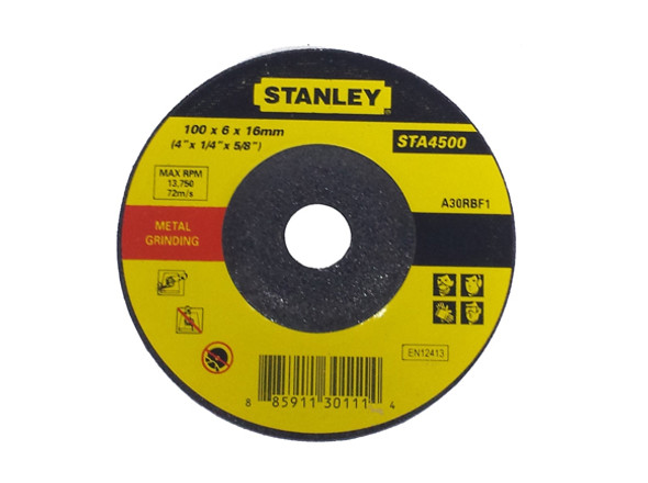 Stanley 4 Cutting Disc M/Ss 100X6.0X16mm