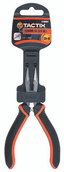 Tactix Pliers Long Nose Mini 120mm/4-3/4