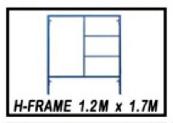 G.I Scaffolding H-frame Set