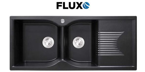 FLUXO FXS-1 QUARTZ STONE SINK DOUBLE 45x19x9INCH