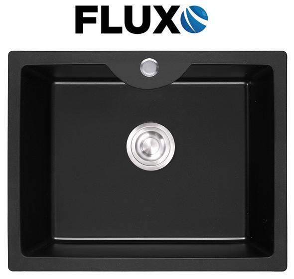 FLUXO FXS-6 QUARTZ STONE SINK 23x17.7x8.7INCH