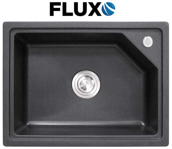 FLUXO FXS-8 QUARTZ STONE SINK 23.6x17.7x8.7INCH