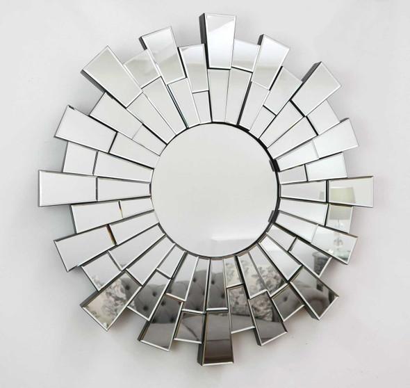 Decorative Clear Round Wall Mirror M398 80X80CM