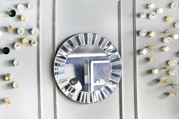 Decorative Round Mirror M8028-GR