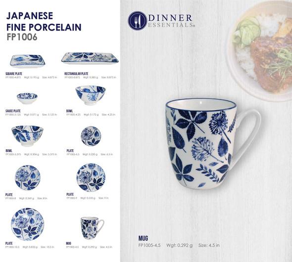 Fine Porcelain FP1005-4.5 Mug 4.5IN