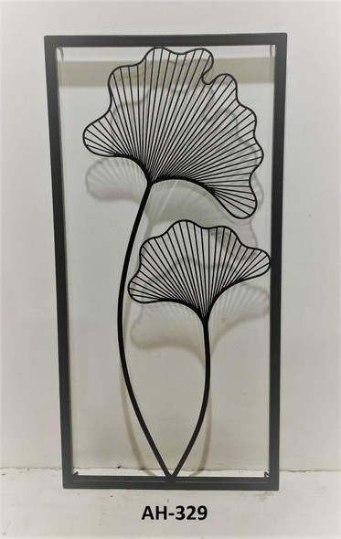 Decorative Metal Wall Black AH-329