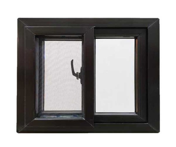FINESTRA Aluminum Sliding Window Brown