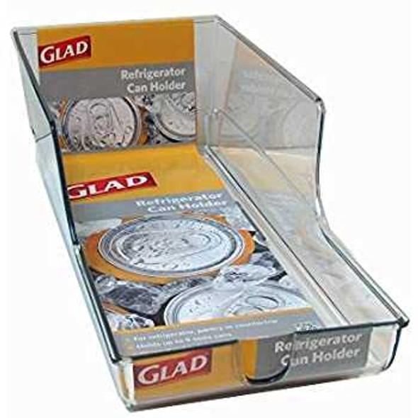 Glad Refrigerator Organizer Can Holder