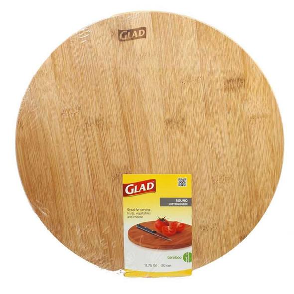 Glad Round Serving Board 30Cmx30Cm