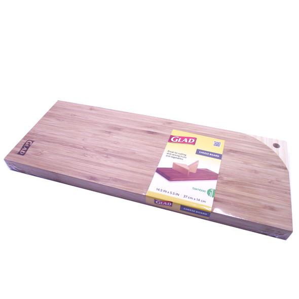 Glad Bamboo Cheese Board 36.83Cmx13.97Cm