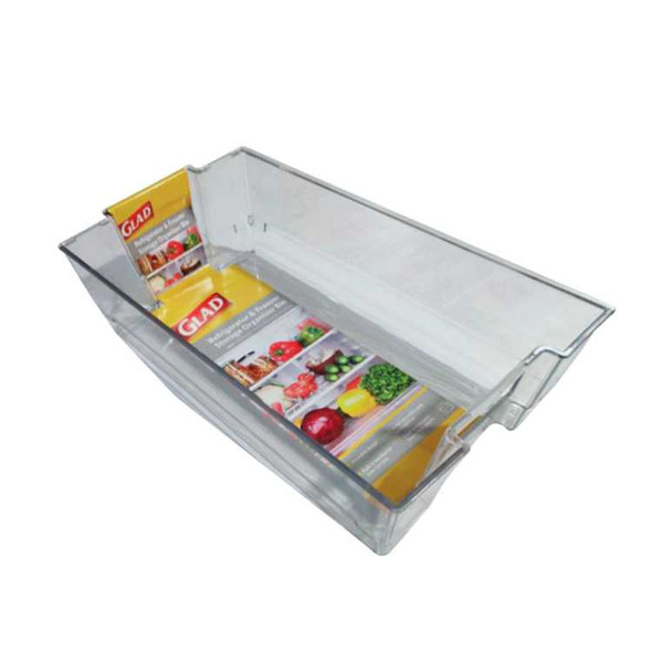Glad Ref And Freezer Storage Organizer Bin 36.83Cmx21Cmx10Cm