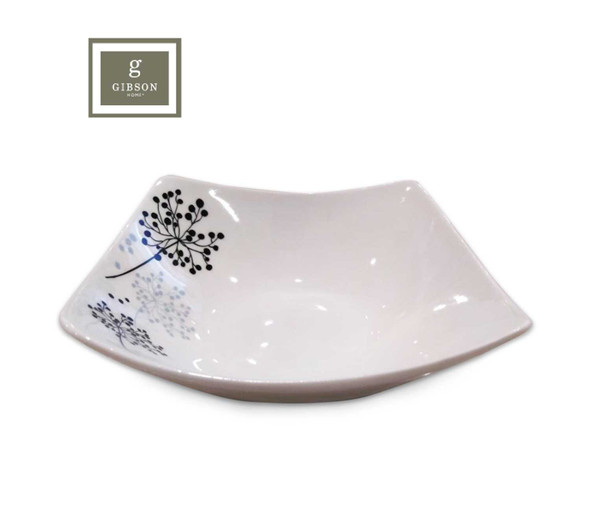 Gibson Home Netherwood 4pc 8in Square Bowl