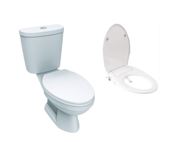 Winplus II  Close-Coupled Water Closet with Slim Smart Washer