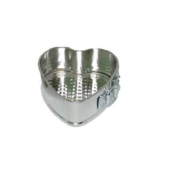 PIRSM Mini Heart Cake Pan with Opening