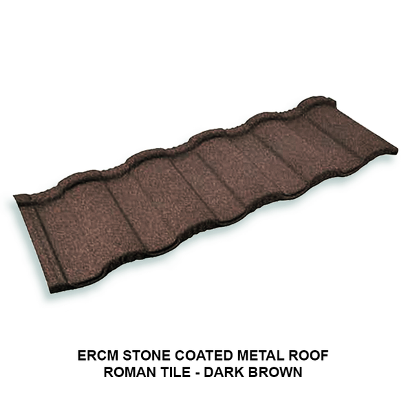 Stone coated metal roof is made from steel or some other metal then coated with stone chips and attached to the steel with an acrylic film, it more durable type of roofing. *prices are subject to change without prior notice