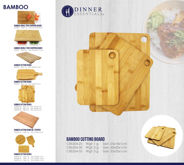 CBS204 BAMBOO CUTTING BOARD