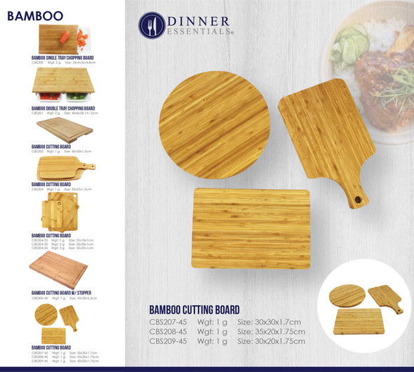 CBS BAMBOO CUTTING BOARD