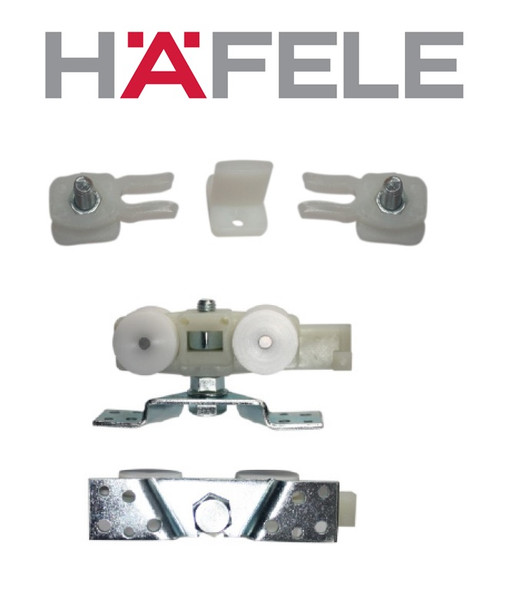 Hafele 499.40.003 Sliding Door Fitting Set Sile