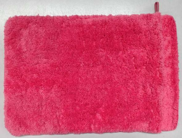 Fluxo Bath Mat 45X70 Chanille Plain Pink