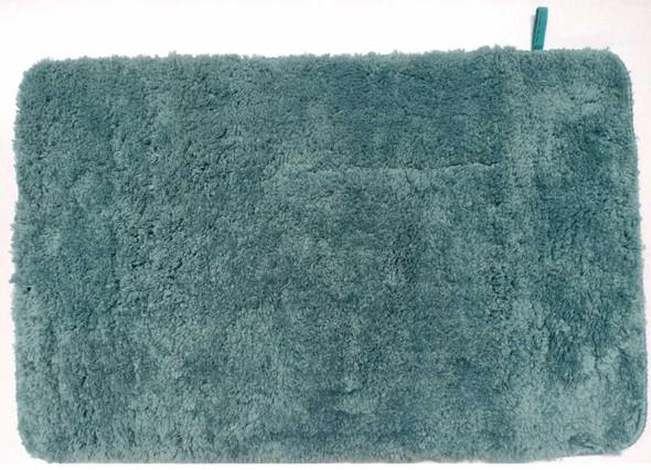 Fluxo Bath Mat 45X70 Chanille Plain Green