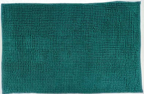 Fluxo Bath Mat 45X70 Microfiber Plain Green