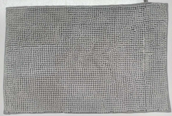Fluxo Bath Mat 45X70 Microfibr Plain Gray