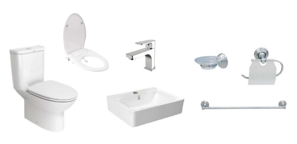 Neo Modern P2630-04A Toilet Package