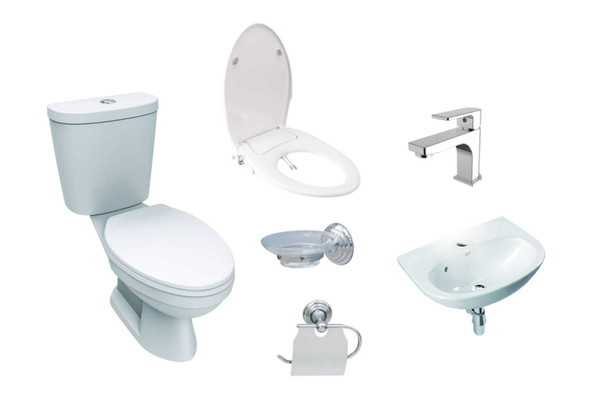 Winplus II P2399-2-05A Toilet Package