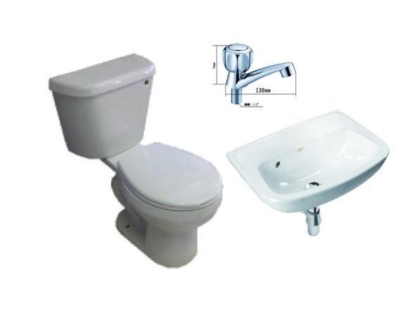 Galaxy II T2352AS-2-02 Toilet Package