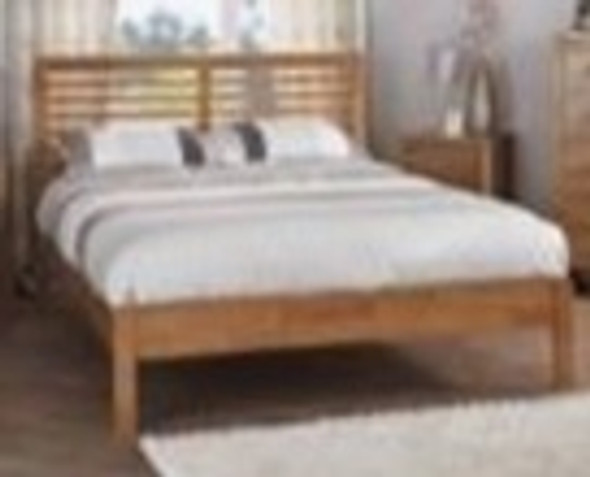 Kazz Wooden Single Bedframe
