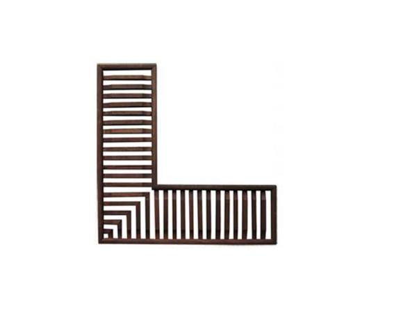 Wooden Air Vent L-Corner