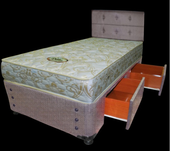 ORLANDO+COLORADO+DITTA  Padded Bedframe