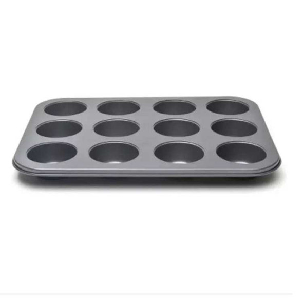 Muffin Tray by 12 Plain