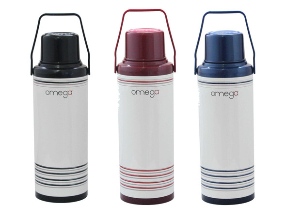 MT-REDWALD METAL DOUBLE CUP VACUUM FLASK IN GB