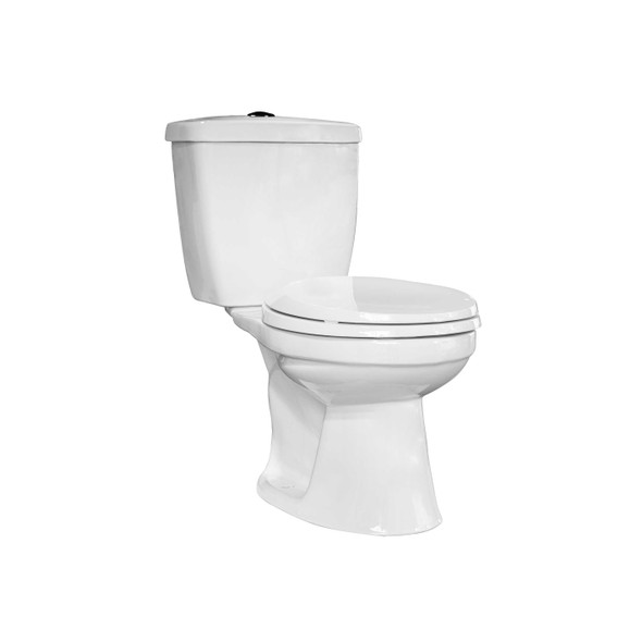 Alesso 6LPF Push Button Close-Coupled Water Closet