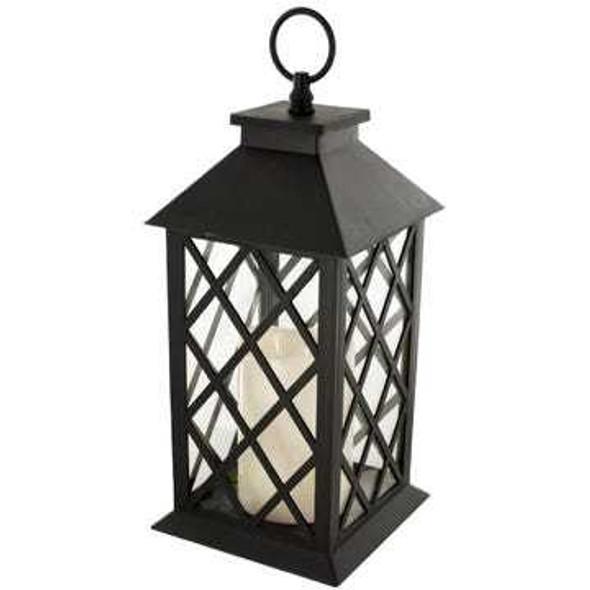 OS336 Decorative LED Lantern with Candle