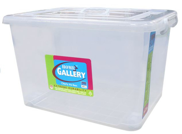 #087A STORAGE BOX W/ HANDLE 65LTR