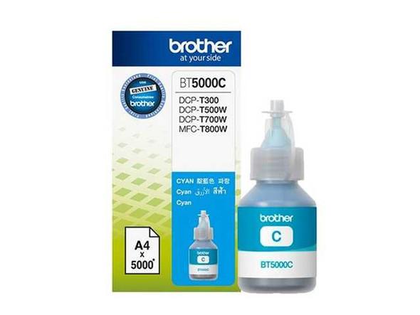 BROTHER BT-5000 Genuine Printer Ink Bottle Cyan