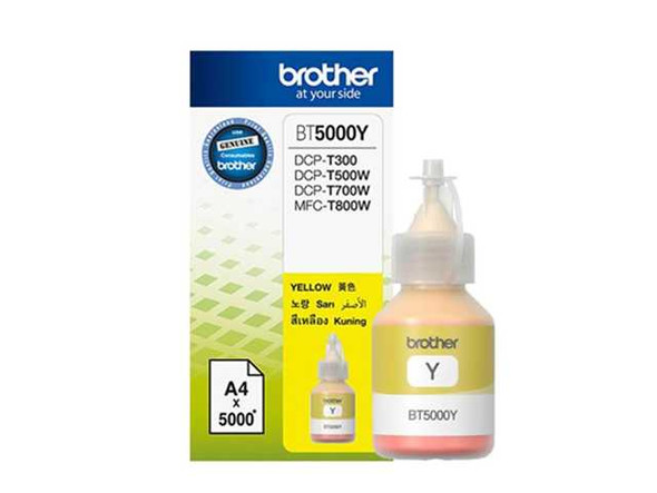 BROTHER BT5000 PRINTER INK YELLOW