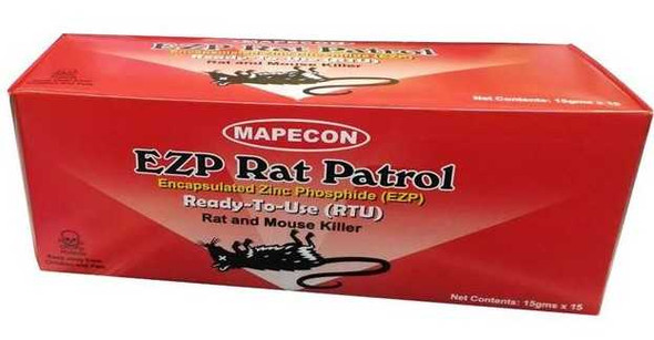 MAPECON EZP RTU RAT BAIT 15S