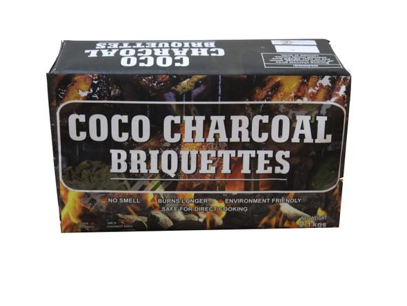CHARCOAL BRIQUETTES 2.1 KG