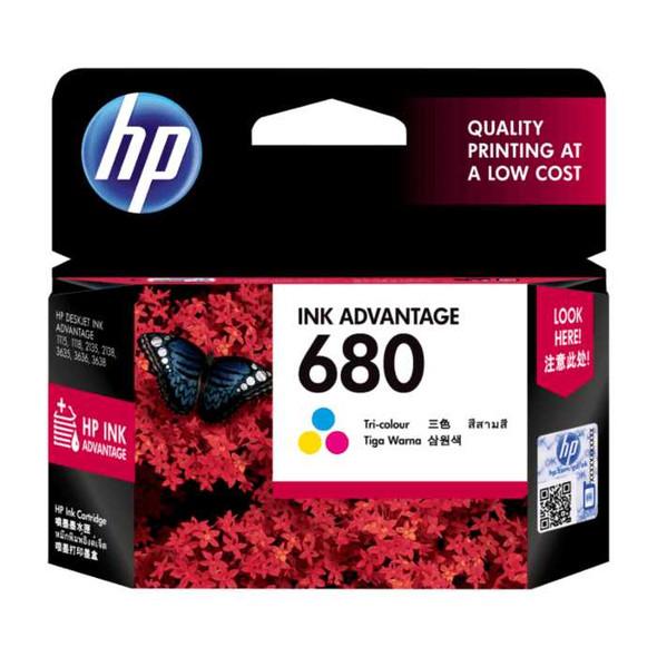 HP F6V26AA 680 PRINTER INK TRI (M)