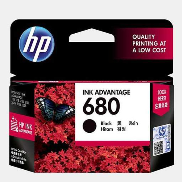 HP F6V27AA 680 PRINTER INK BLACK (M)