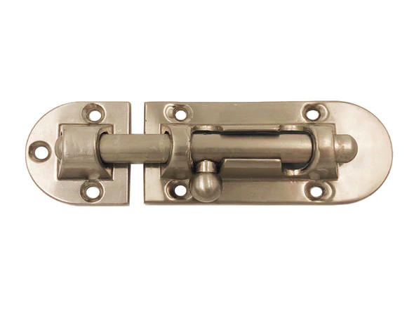 BARREL BOLT HD 3X34MM NICKEL PLATED