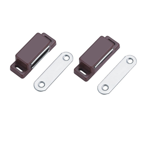 MAGNETIC CATCHES BROWN SLIM 10S