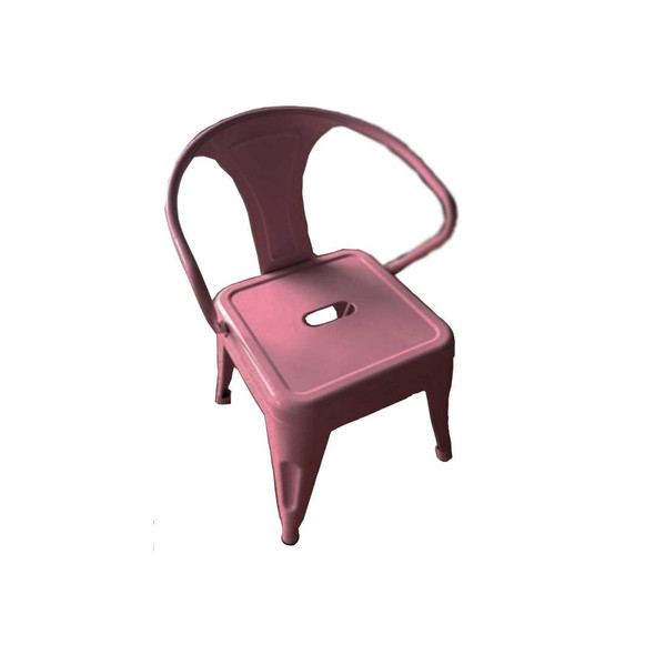 B1T1 MERLIN 612F KIDS STEEL CHAIR PINK